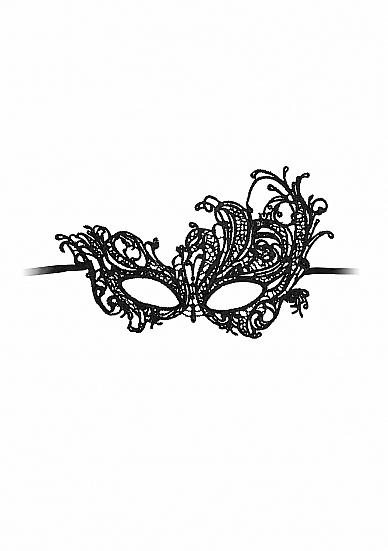 Image of Kanten Masker Royal - Zwart
