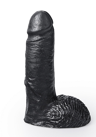 Image of Dildo Marcel - Black - 17 cm
