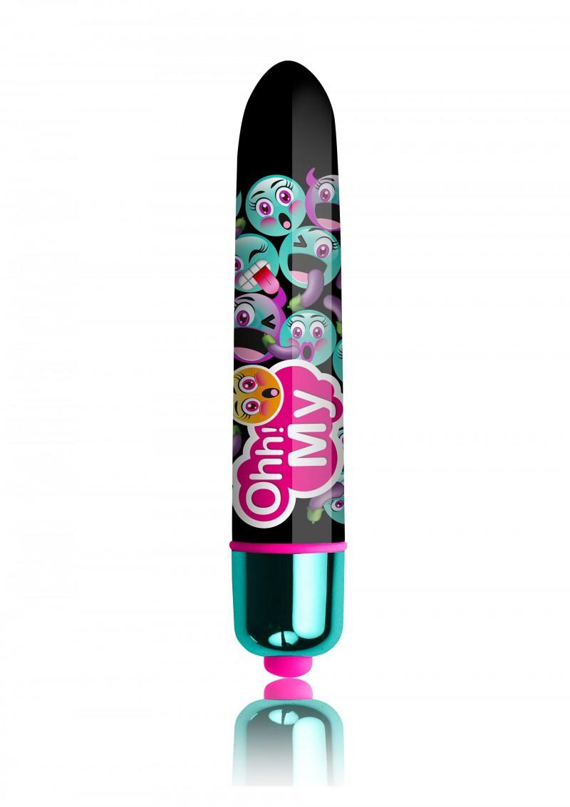 Image of Clitoris Vibrator- Ro90 OhhMoji Ohh! Green