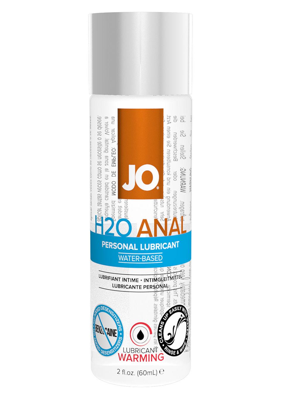 Image of System JO H2O Anaal Verwarmend Glijmiddel