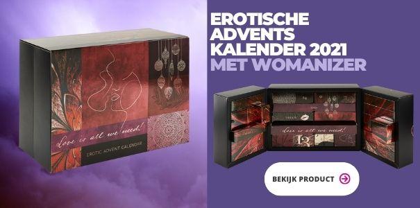 Erotische Adventskalender met Womanizer