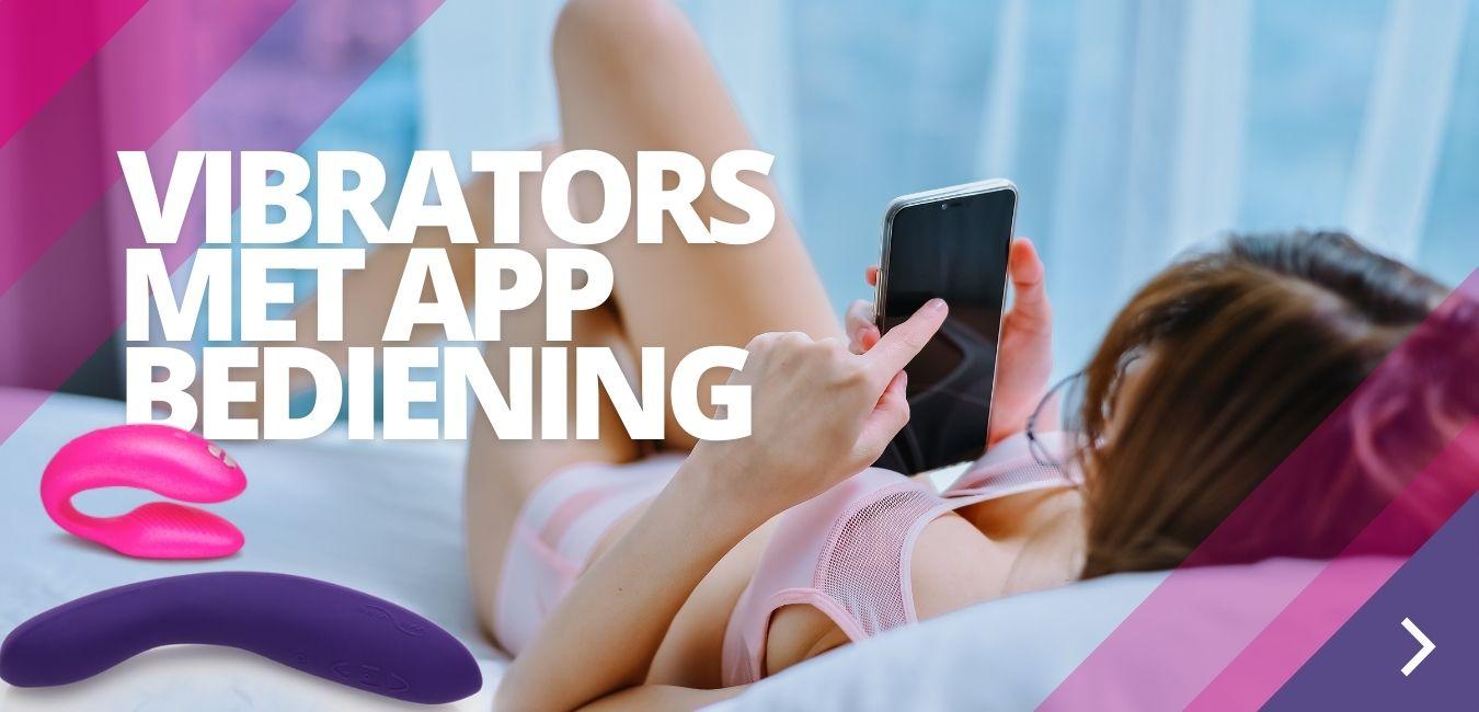 Vibrators met app bediening